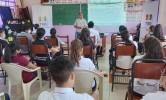 El TED Tarija realiza la capacitación presencial a maestras, maestros y estudiantes de la unidad académica Gran Chaco