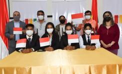 La UE Los Naranjos, de Tarija, es el tercer clasificado a la final de las Olimpiadas de la Democracia Intercultural