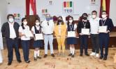 La unidad educativa Los Naranjos gana la Olimpiada del Saber de la Democracia Intercultural en Tarija y pasa a la semifinal nacional