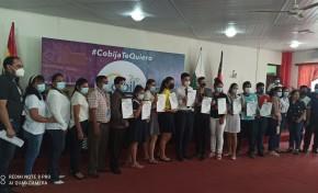 El TED Pando entrega credenciales al nuevo Comité Municipal de Niña, Niño y Adolescente de Cobija
