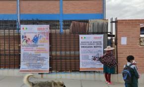 Durante tres días, el OEP lleva los principales servicios registrales a urbanizaciones de Oruro
