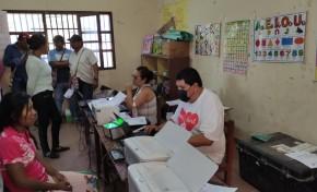 Indígenas de D'Ormigny, en Tarija, se benefician con inscripciones, saneamiento y certificaciones gratuitas por encargo del OEP