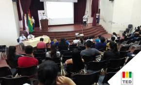 El TED Santa Cruz inició la capacitación presencial a maestras, maestros y estudiantes de las ESFM