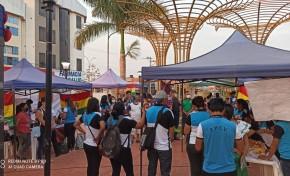 La ESFM Puerto Rico y las unidades académicas de Filadelfia y Cobija resaltan el mes de las democracias con feria informativa