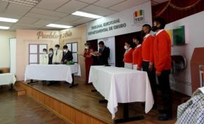 Las Olimpiadas del Saber Democrático prosiguen con 16 equipos clasificados