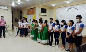La unidad educativa Simón Bolívar ganó la Olimpiada de la Democracia Intercultural en Pando